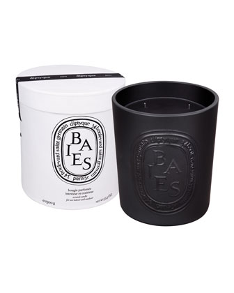 Ceramic Baies Scented Candle