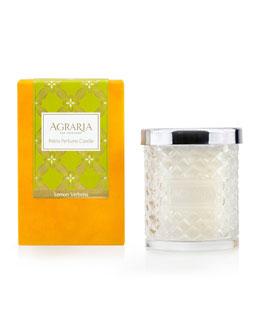 Lemon Verbena Woven Crystal Perfume Candle, 7 oz.