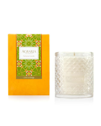 Lime Orange Blossom Woven Crystal
