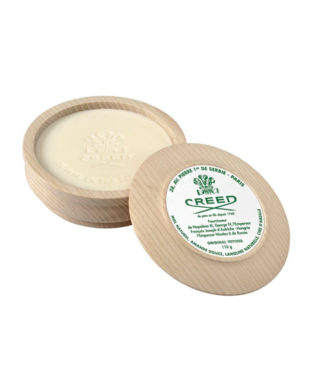 Original Vetiver Shaving Soap & Bowl