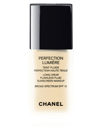 PERFECTION LUMIERE Long Wear Flawless Fluid Sunscreen Makeup Broad Spectrum SPF 15
