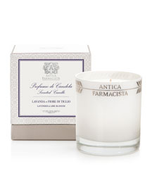 Round Lavender Lime Candle, 9 oz.
