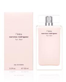 For Her L'eau Eau de Toilette, 3.3oz