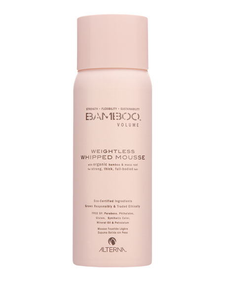 Bamboo Volume Weightless Whipped Hair Mousse
