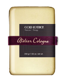 Gold Leather Bar Soap