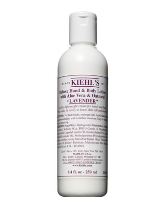 Lavender Deluxe Hand & Body Lotion, 8.4oz