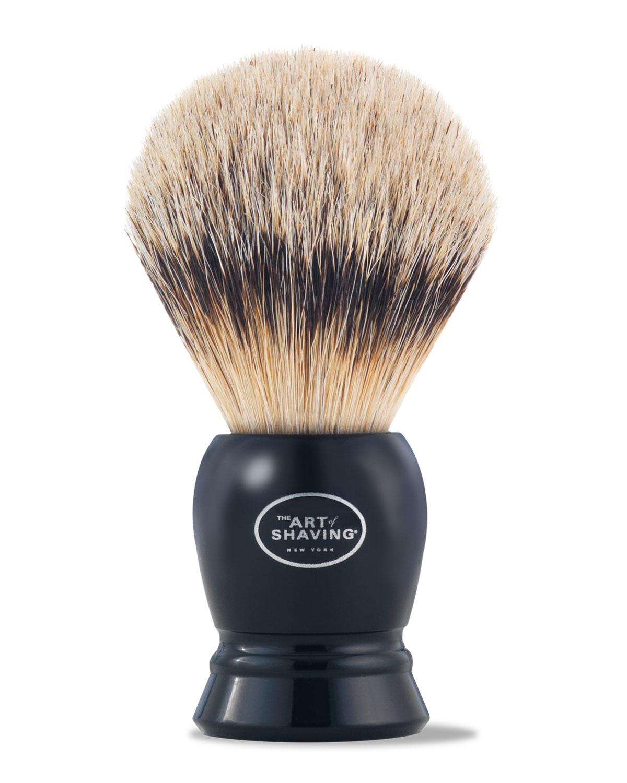 The Art of Shaving Fine Badger Hair Brush, Black