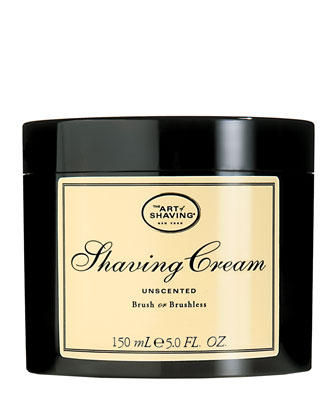 Brush or Brushless Shaving Cream, Unscented