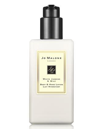White Jasmine & Mint Body & Hand Lotion, 250ml