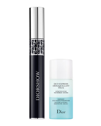 Diorshow & Mini Makeup Remover Duo