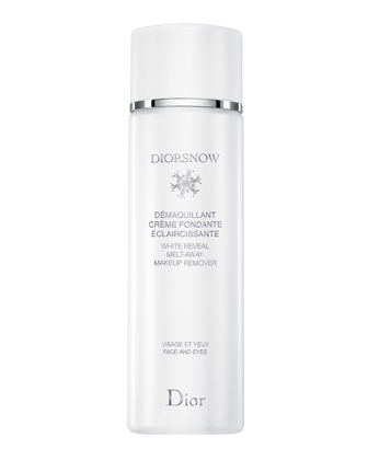 Diorsnow White Reveal Melt-Away Makeup Remover