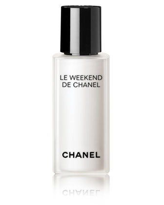 CHANEL CHANEL LE WEEKEND DE CHANEL Weekly Renewing Face care Pump Bottle Limited Edition, ...