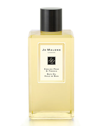 English Pear & Freesia Bath Oil, 250 mL