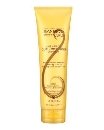 Bamboo Smooth Curls Anti-Frizz Curl-Defining Cream, 4.5 fl. oz.
