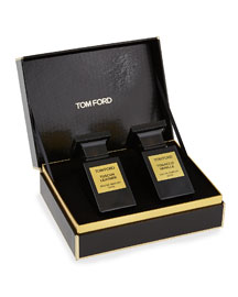Tom Ford 2 Piece Tobacco Vanille and Tuscan Leather Set