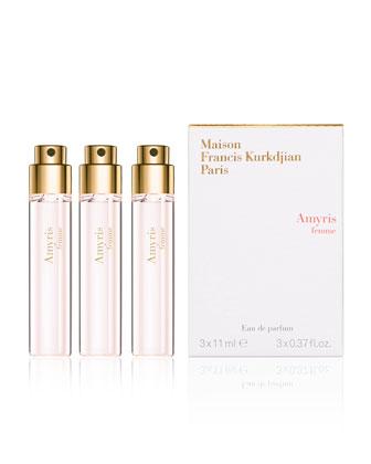 Amyris Femme Natural Eau de Parfum Spray Refills, 3, 0.37 oz.