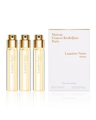 Lumiere Noire Femme Spray, 3 Refills, 0.37 oz. each