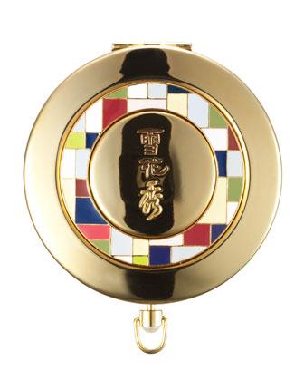 Shine Classic Powder Compact (2005 Seven Treasure Design)