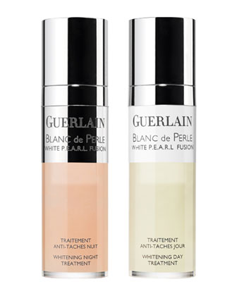 Blanc de Pearl Day and Night Treatment, 2 x 15 mL