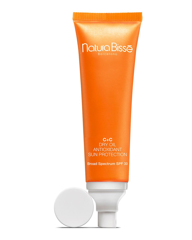 Natura Bisse C+C Dry Oil Antioxidant Sun Protection SPF 30, 3.3 oz.