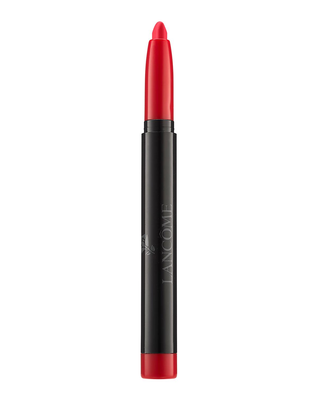 Lancome Limited Edition Color Design Matte Lip Crayon, 100 Oui, Monsieur