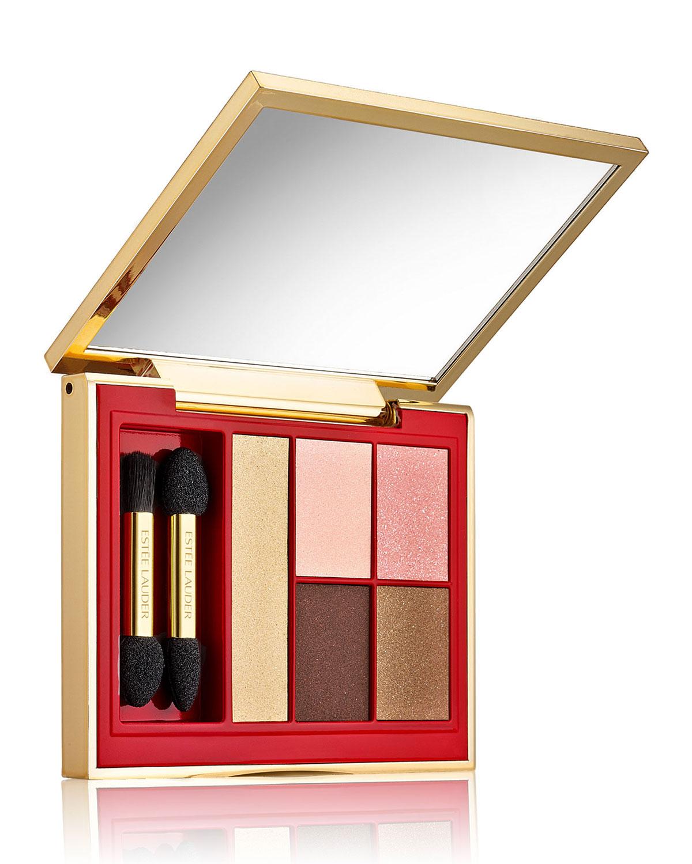 Estee Lauder Limited Edition Le Rouge Pure Color Envy Sculpting EyeShadow 5-Color Palette, Pink Mink
