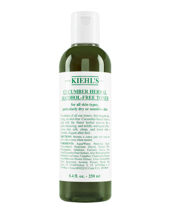 Cucumber Herbal Toner, 8.4oz