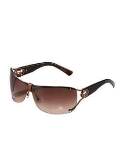 Gucci Shield Sunglasses