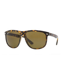 Oversize Polarized Wayfarer Sunglasses