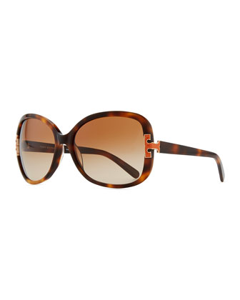 T-Logo Sunglasses, Orange