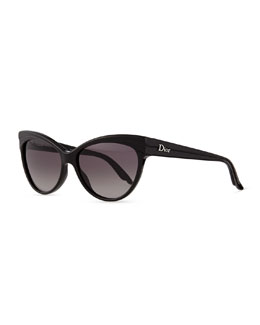 Dior Cat Eye Sunglasses, Panther