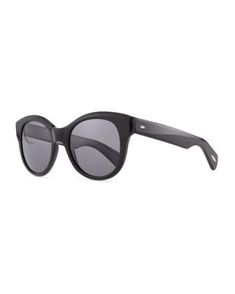 Jacey Polarized Sunglasses, Black
