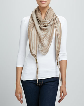 Trigon Acantha Scarf, Light Brown