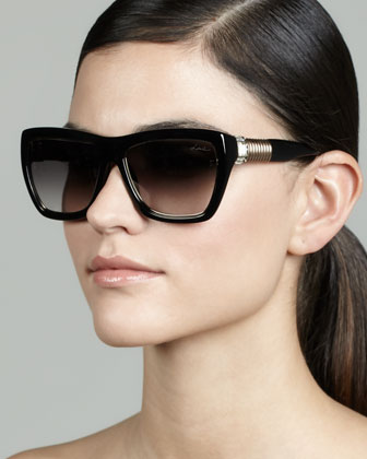 Hardware-Temple Plastic Sunglasses