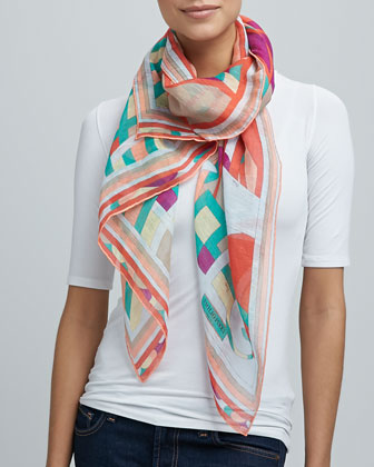 Capri Scarf, Orange
