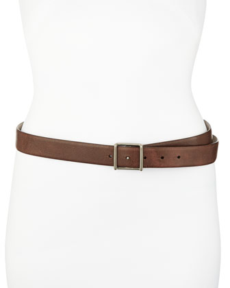 Leather Hip Belt, Espresso