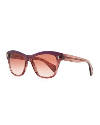 Sofee Sunglasses, Faded Fig