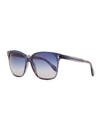 Marmont Plastic Sunglasses, Blue