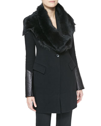 Shearling Tube Collar