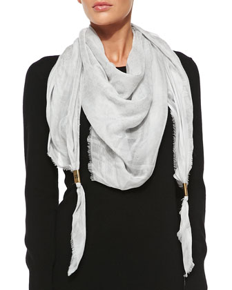 Trigon Acantha Scarf, Off White