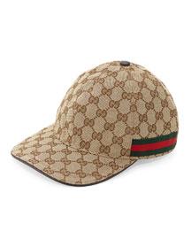 GG Canvas Baseball Hat