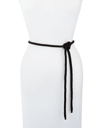 Rope Belt, Black