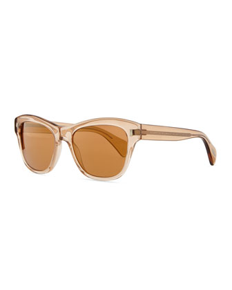 Sofee 53 Polarized Sunglasses, Peach