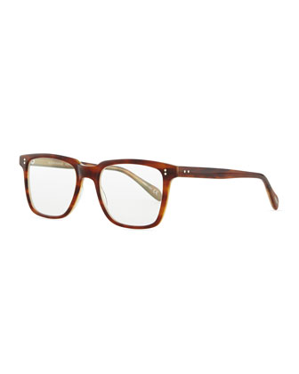 NDG Square Fashion Glasses, Brown