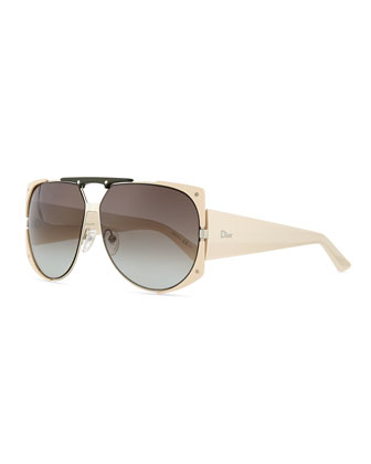 Enigmatic Plastic/Metal Sunglasses