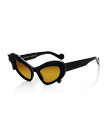 Black Horse Sunglasses, Black
