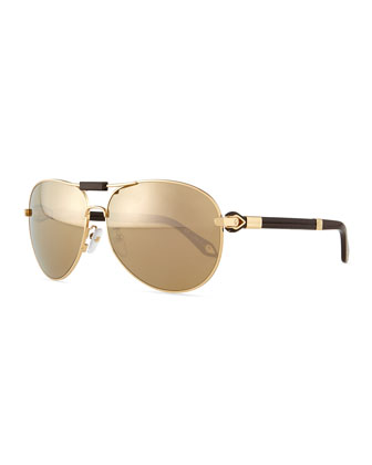 Flash Aviator Sunglasses