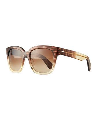 Brinley Square Sunglasses, Henna
