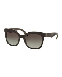 Heritage Square Sunglasses, Brown