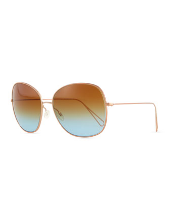 Isabel Marant par Oliver Peoples Daria 62 Oversized Sunglasses